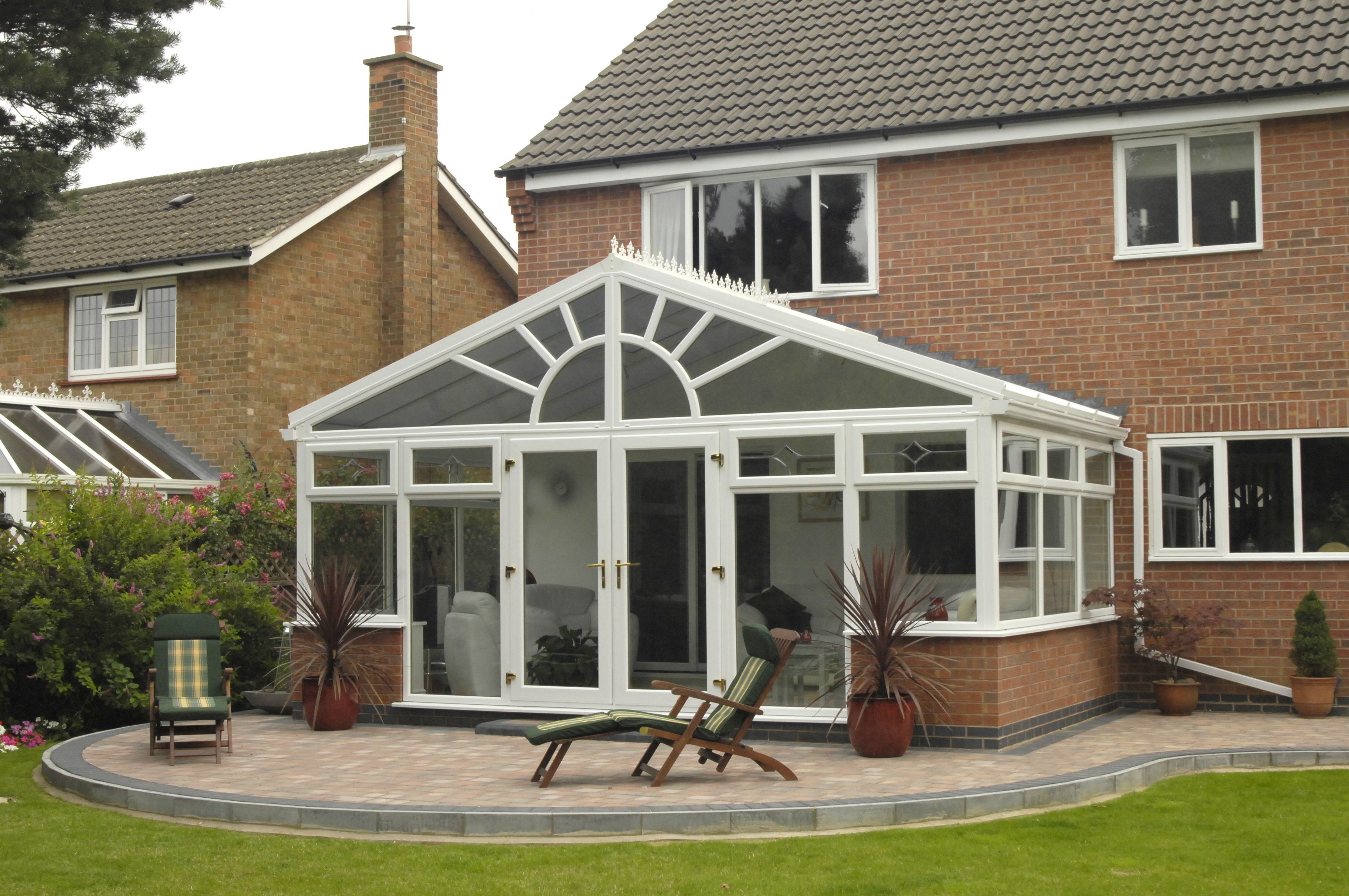 Conservatories orangeries west lancs building for House plans with conservatory