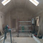 kitchen-vaulted-ceiling-under-construction